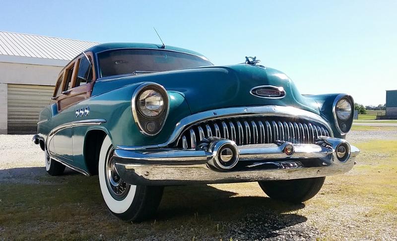1953 Buick Super Estate Wagon