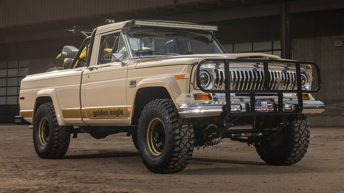 The Golden Eagle Jeep J10 Rolls The Best Of The 70s Into One Truck Hagerty Media