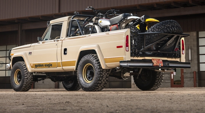 1978 Jeep J10 Truck rear three-quarter