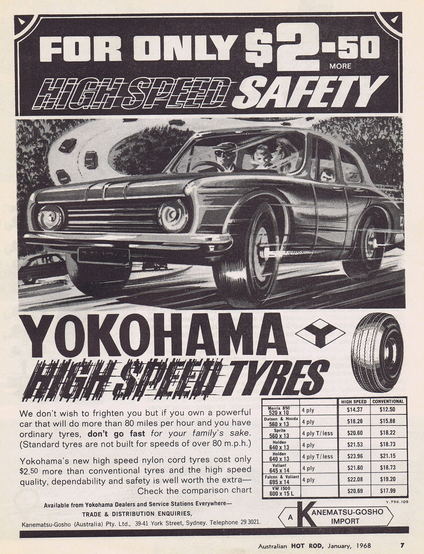 Yokohama tires ad