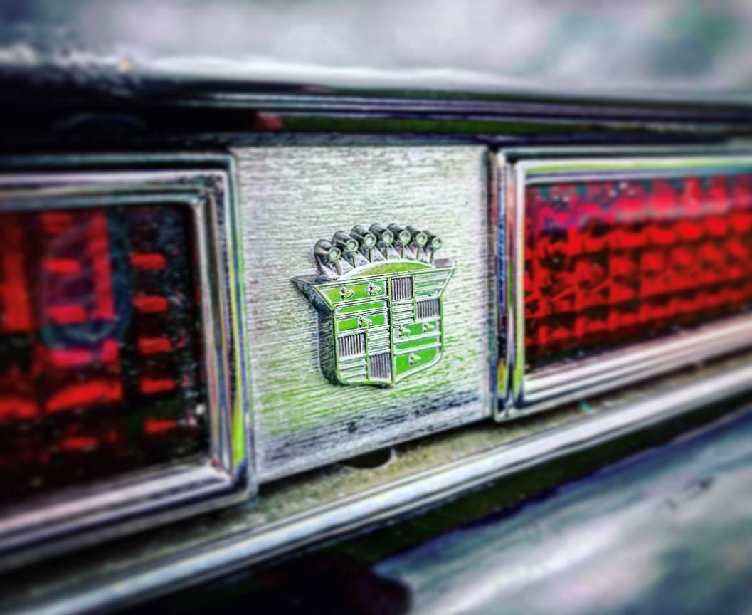 1974 Cadillac Eldorado rear emblem