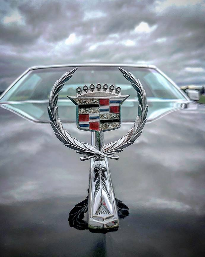 1974 Cadillac Eldorado hood ornament