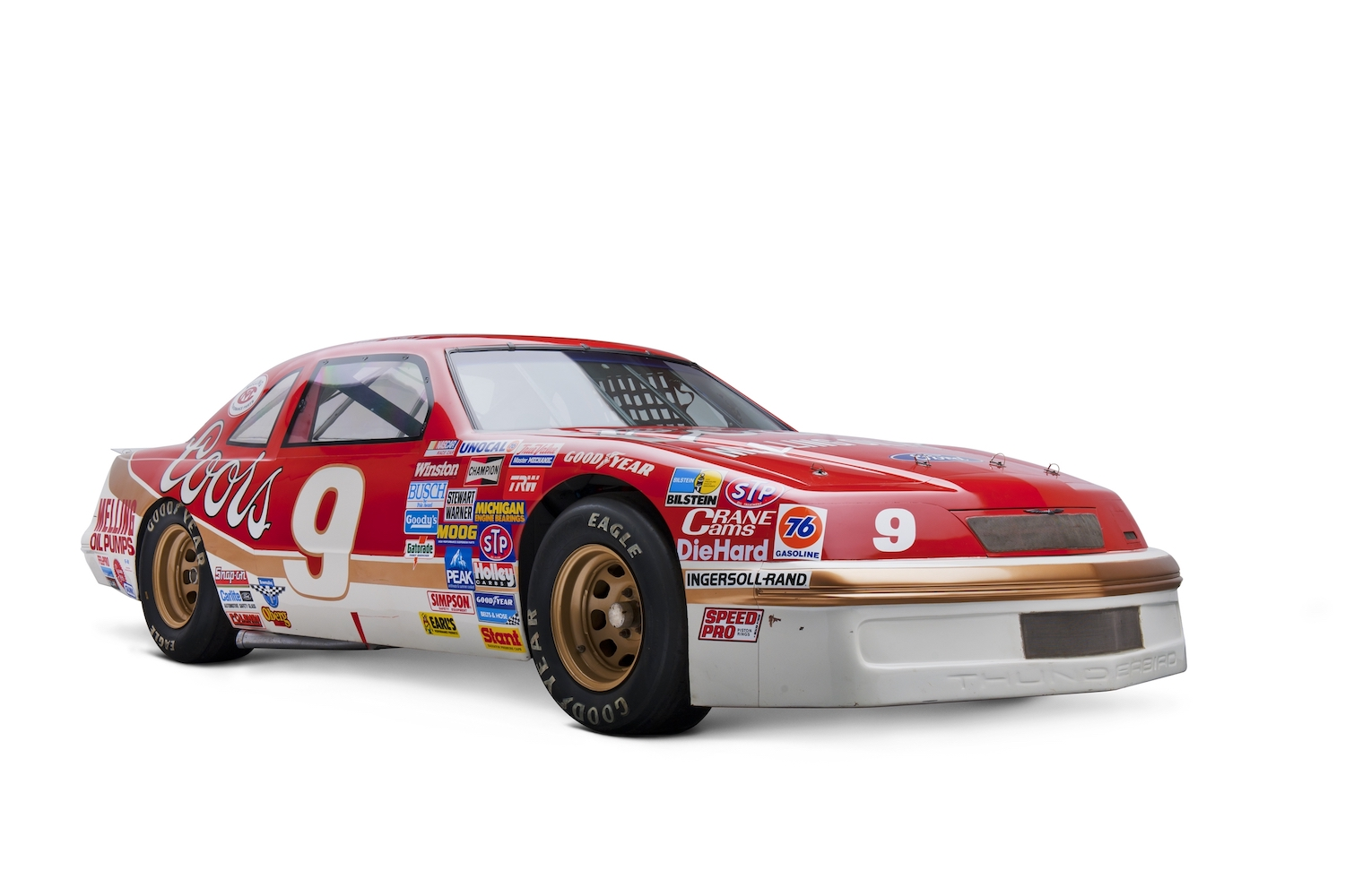 NASCAR Ford Thunderbird front three-quarter