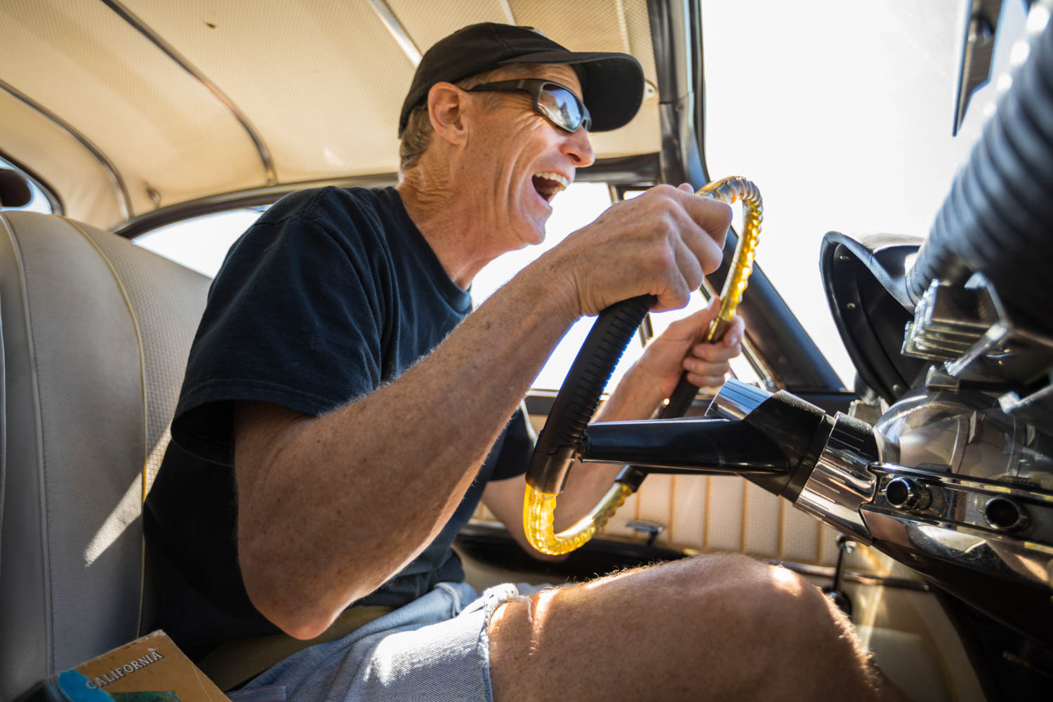 His own odometer now rolled a bit, Stein set out to find another '61 Newport to relive that long ago journey with his friends. You can't go back, John—or can you?