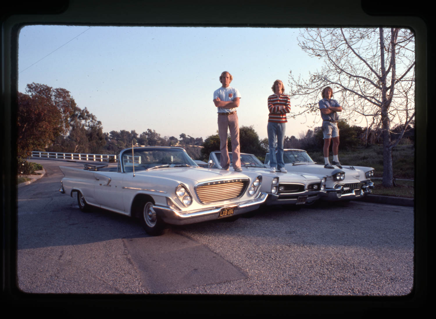 Fins and freedom in 1977: Author John L. Stein and pals Jim Graves and William Metzelaar hit the road 43 years ago in a '61 Chrysler.