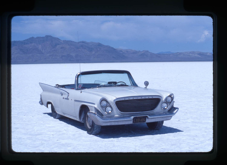 Bonneville salt flats Chrysler