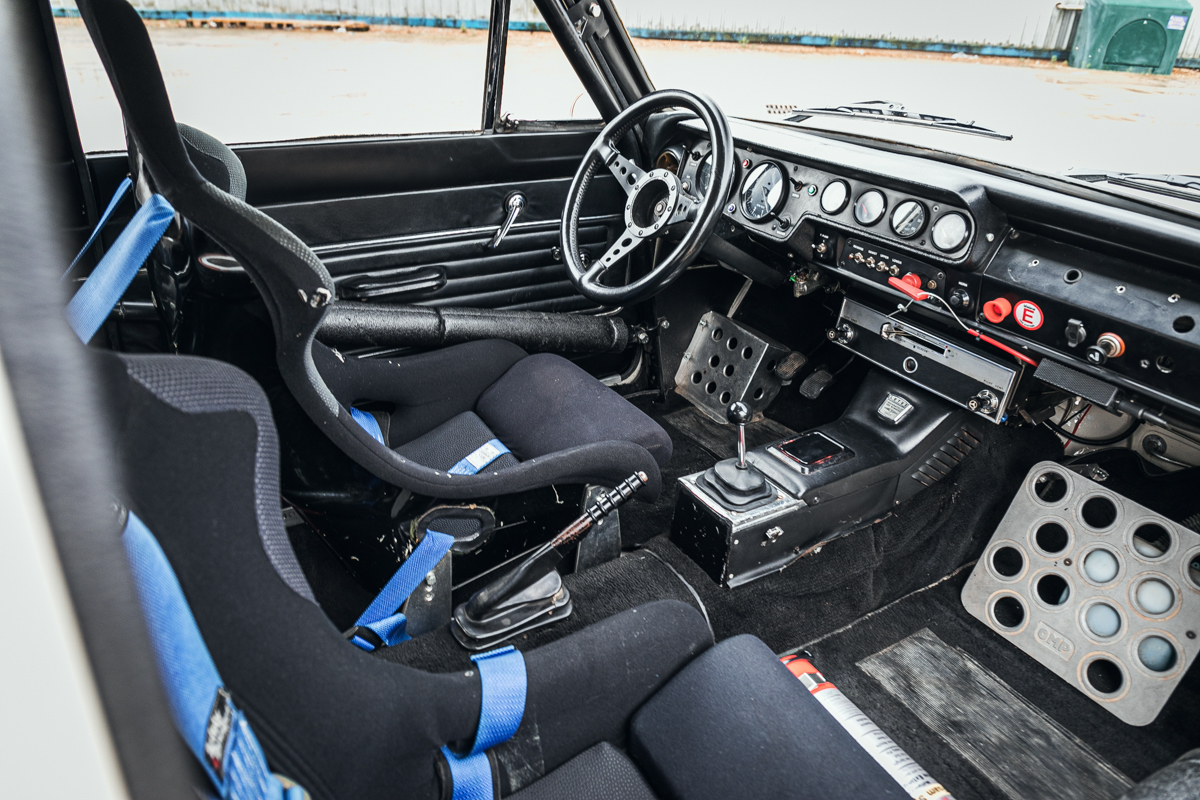 1966 Ford MK1 Lotus Cortina interior