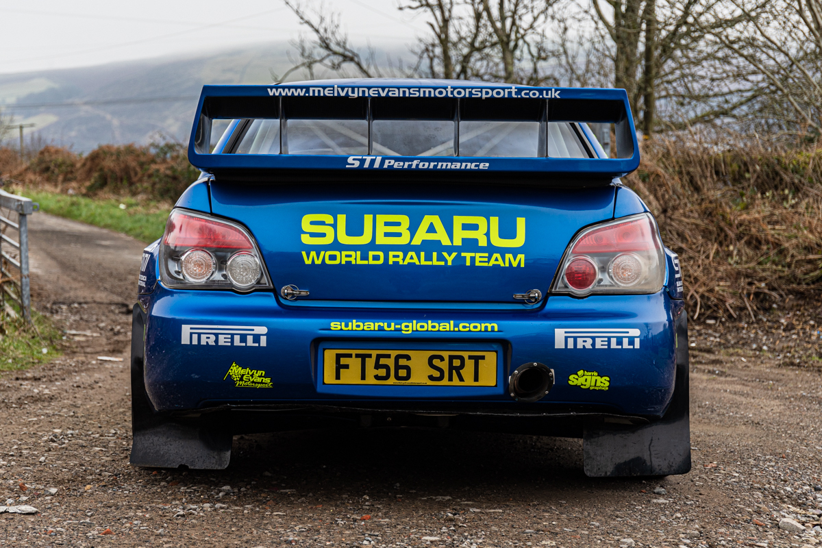 Subaru Impreza S12B rear