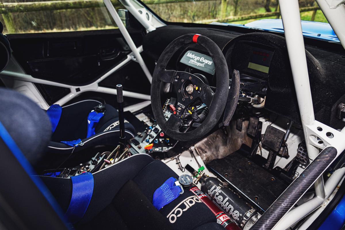 Subaru Impreza S12B interior