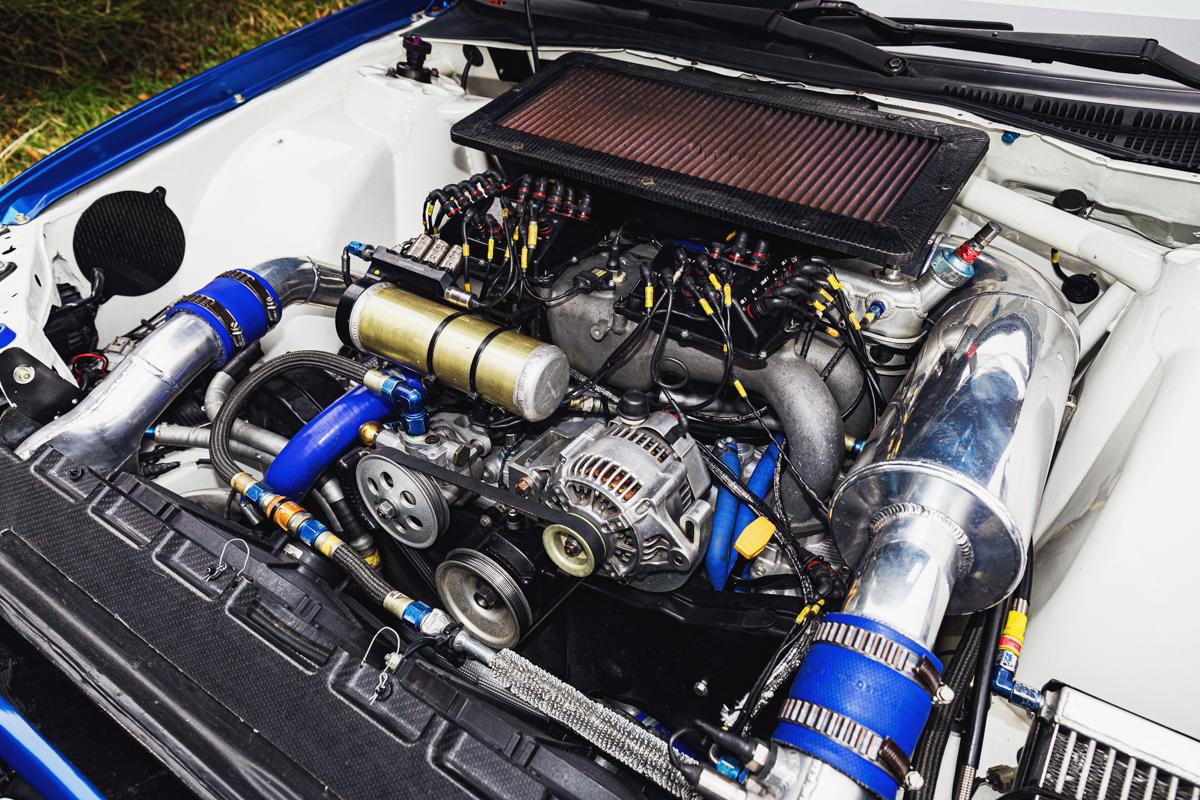 Subaru Impreza S12B engine