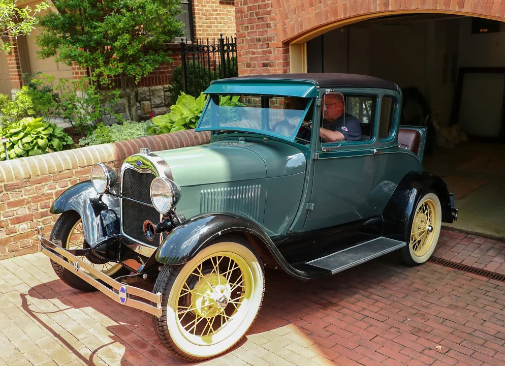 Chiefs Coach Andy Reid's 1928 Model A