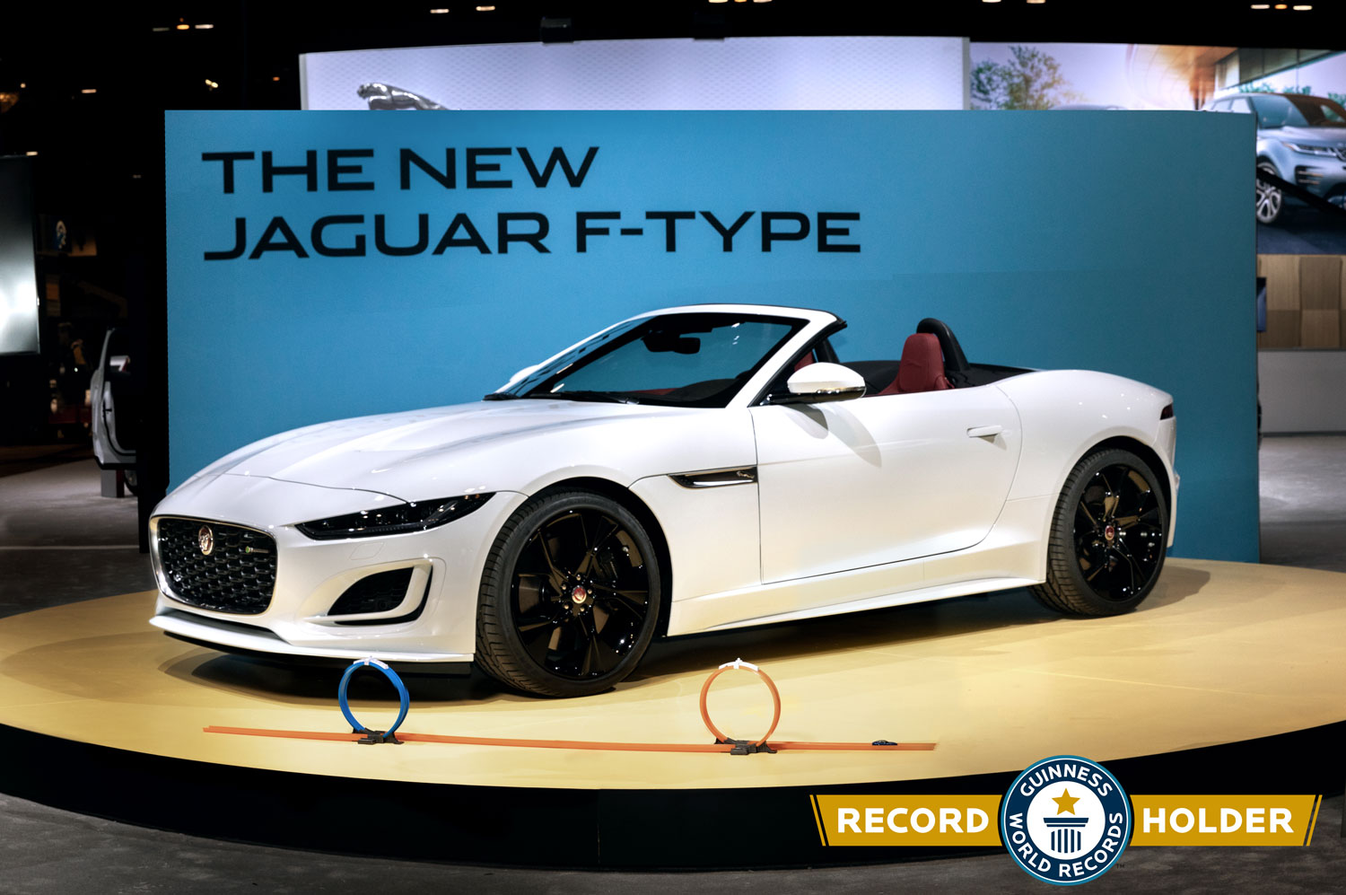 """With 2021 F-Type, Jaguar joins Hot Wheels for """"Ultimate Track Challenge"""" thumbnail"""