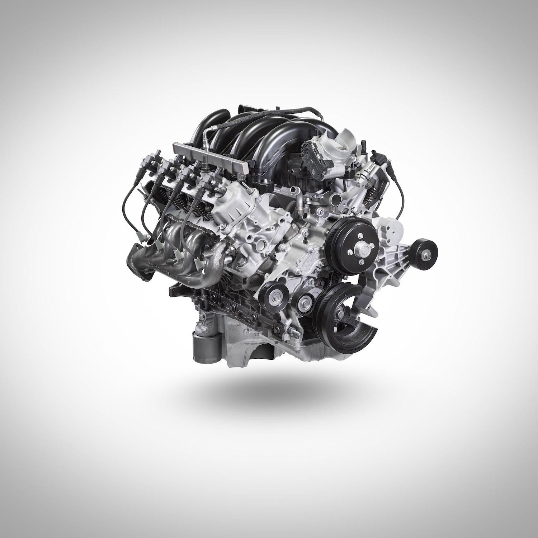 ford super duty gasoline v8 engine