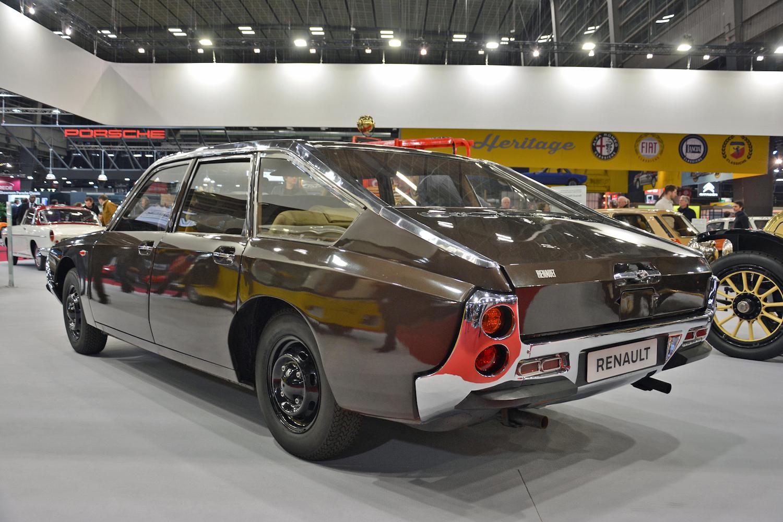 1967 Renault Project H rear three-quarter