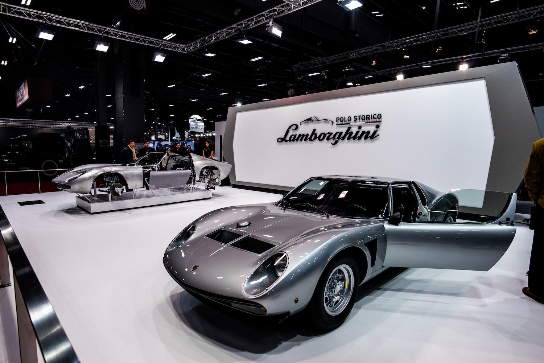 Lamborghini miura restoration front three-quarter