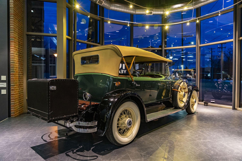 1928 Model L rear three-quarter
