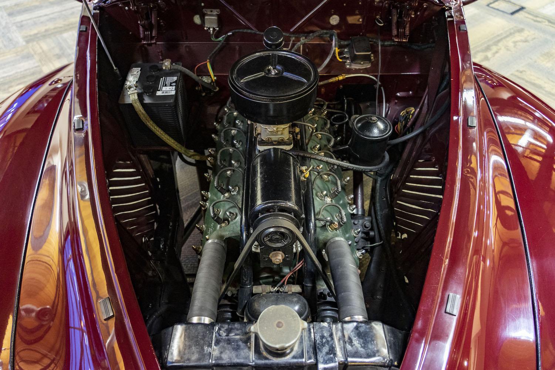 1940 Zephyr engine closeup