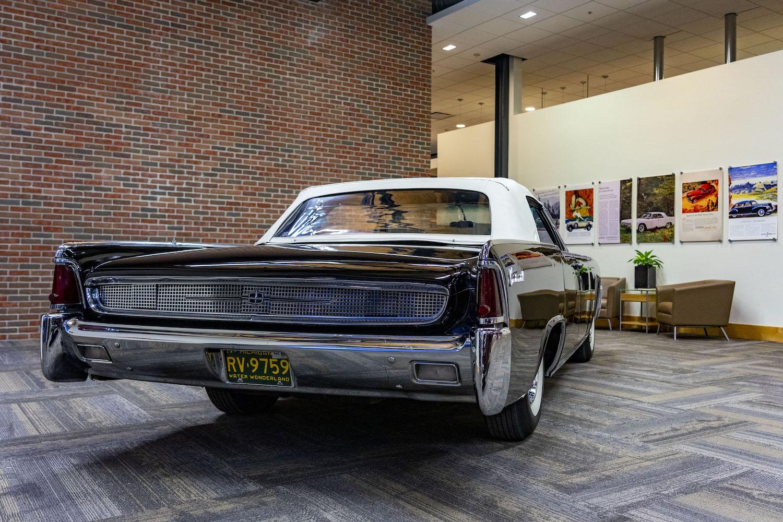 1961 Continental rear three-quarter