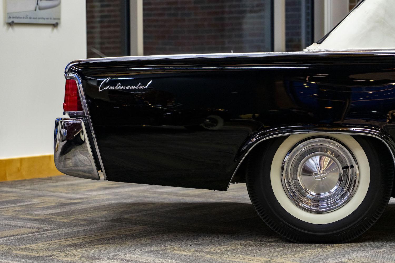 1961 Continental rear quarter panel