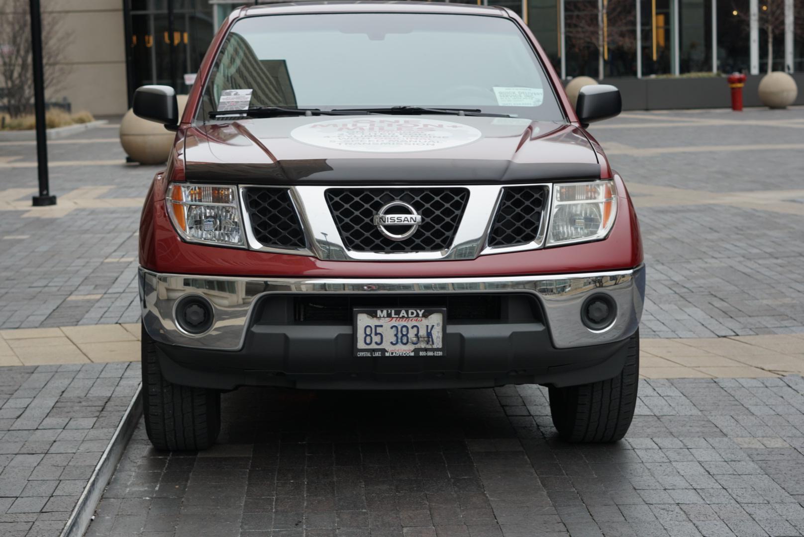 Million-mile 2007 Nissan Frontier