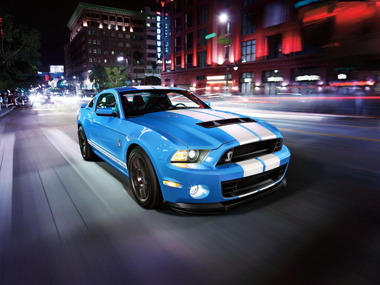 2014 Shelby GT500 grabber blue