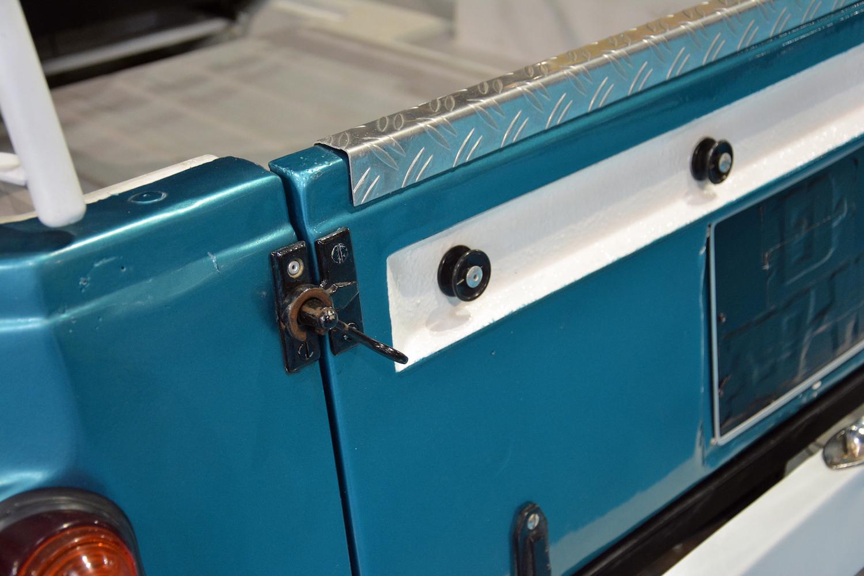 rear tailgate closeup