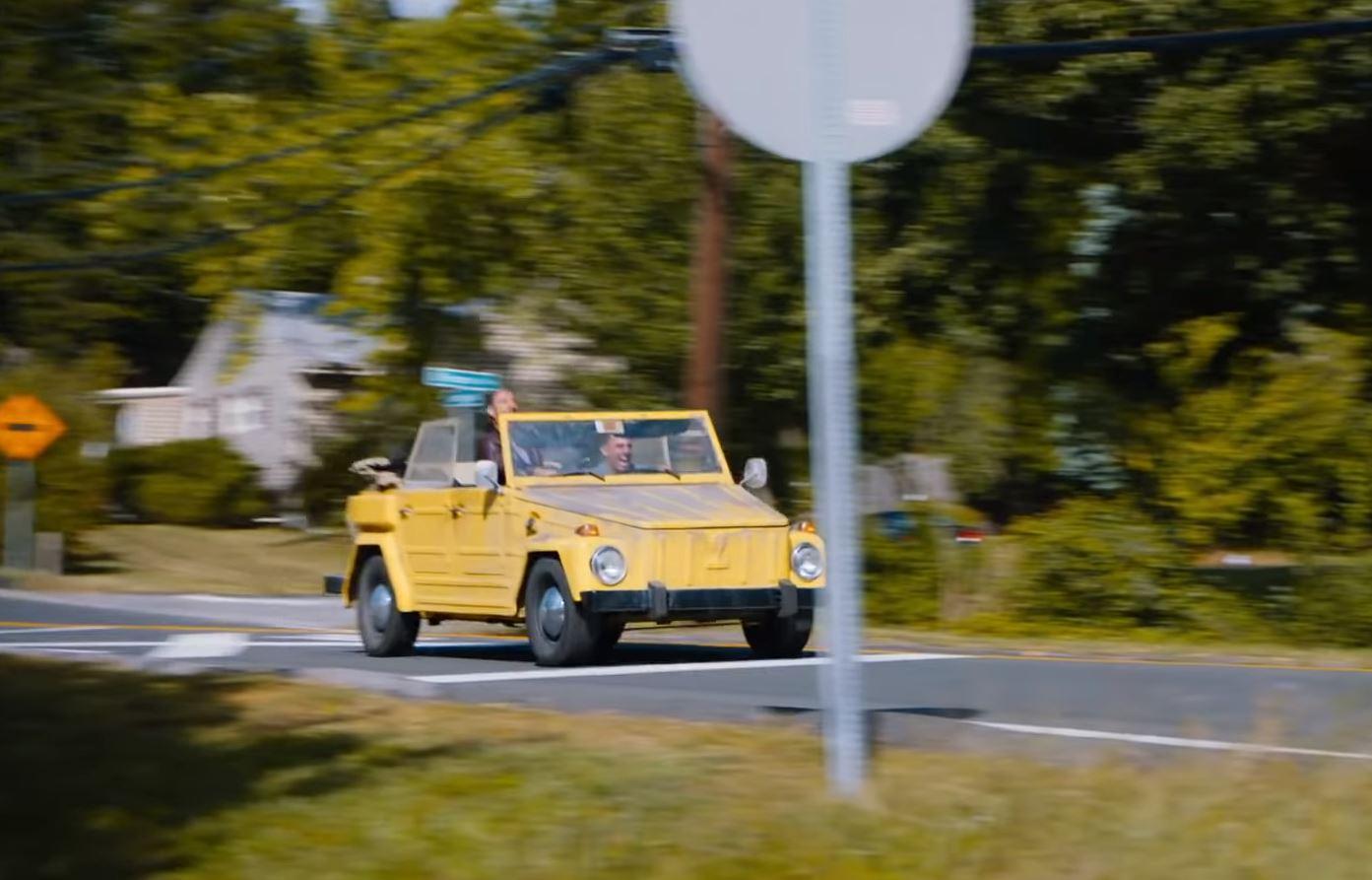 The Jesus Rolls VW Thing