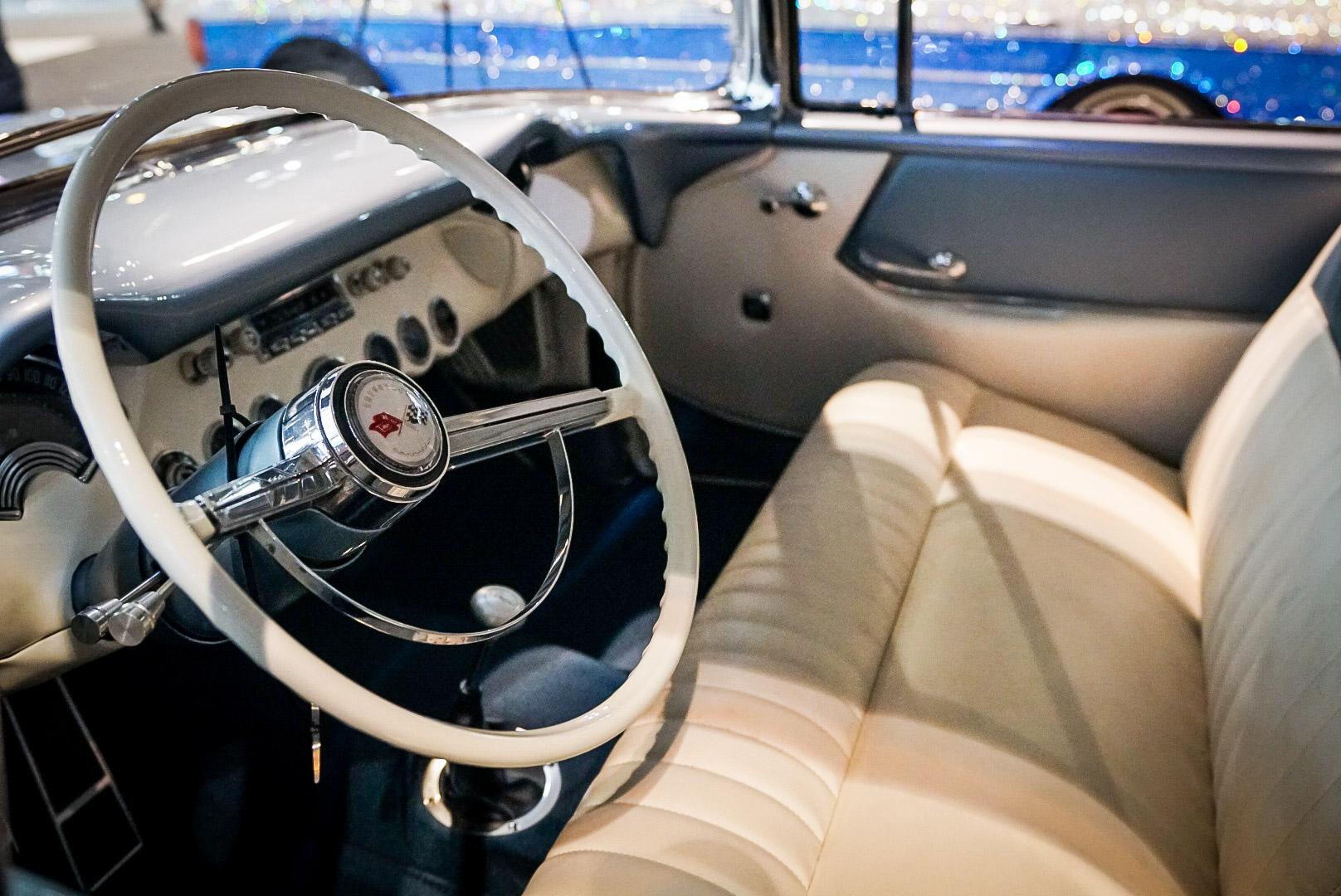1954 Chevrolet Corvette Nomad replica interior