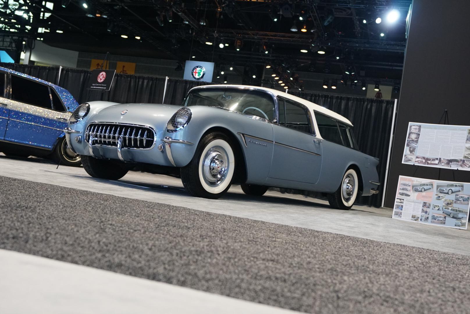 1954 Chevrolet Corvette Nomad replica front three-quarter