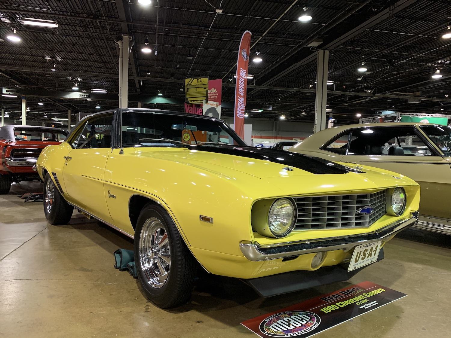 1969 Camaro COPO 427 front three-quarter