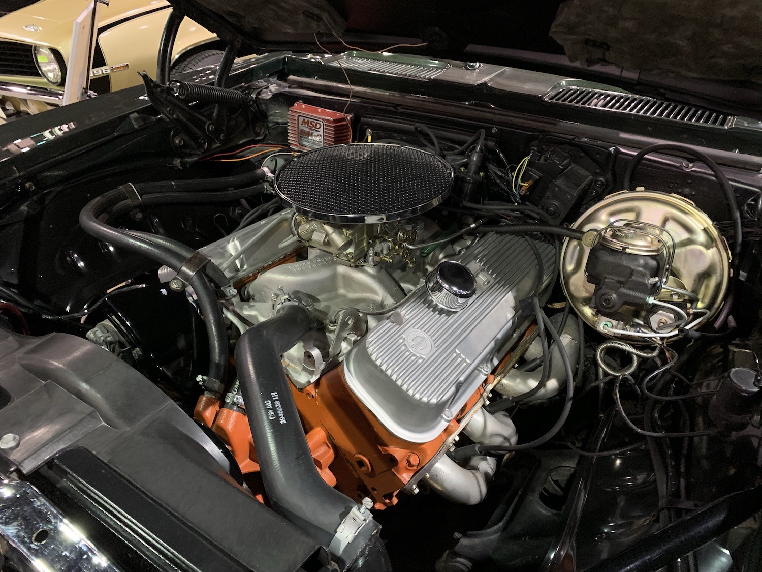 1969 Camaro COPO 427 engine