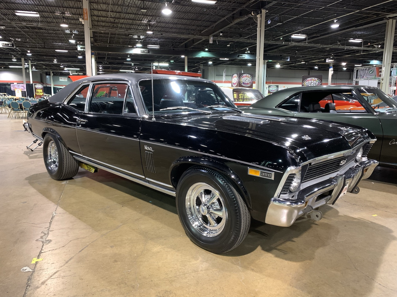 1969 Nova SS 396 front three-quarter