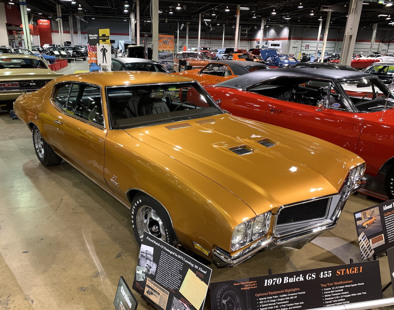 1970 Buick GS 455 front three-quarter