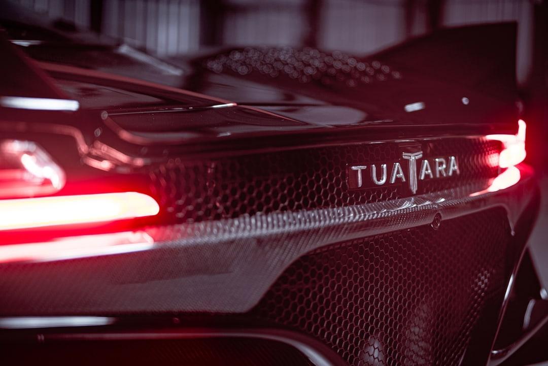 rear tuatara logo and taillights