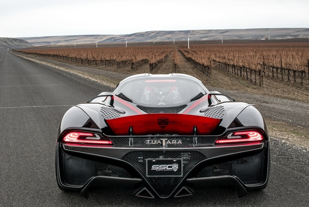 hypercar rear