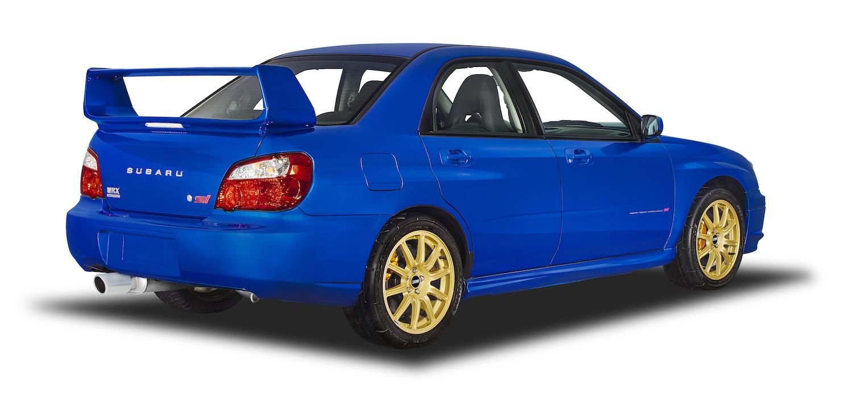 Subaru wrx rear three-quarter