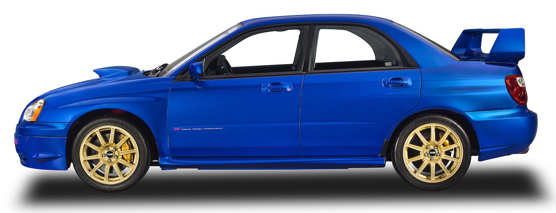 Subaru side-view