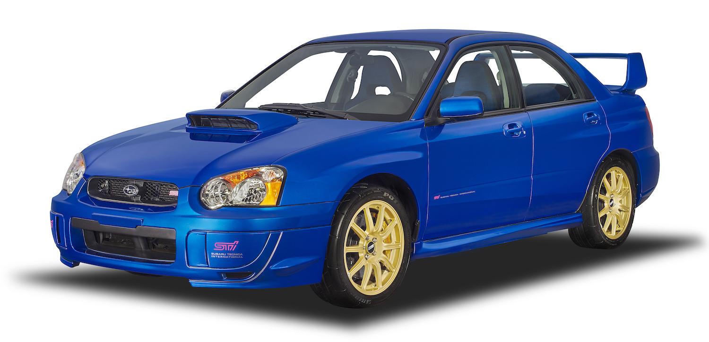 Subaru front three-quarter