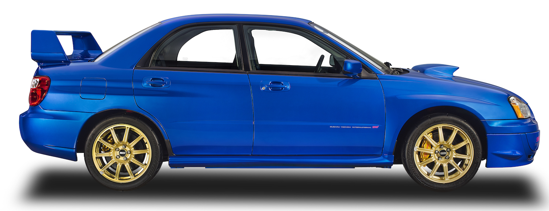 Subaru wrx sti side-view