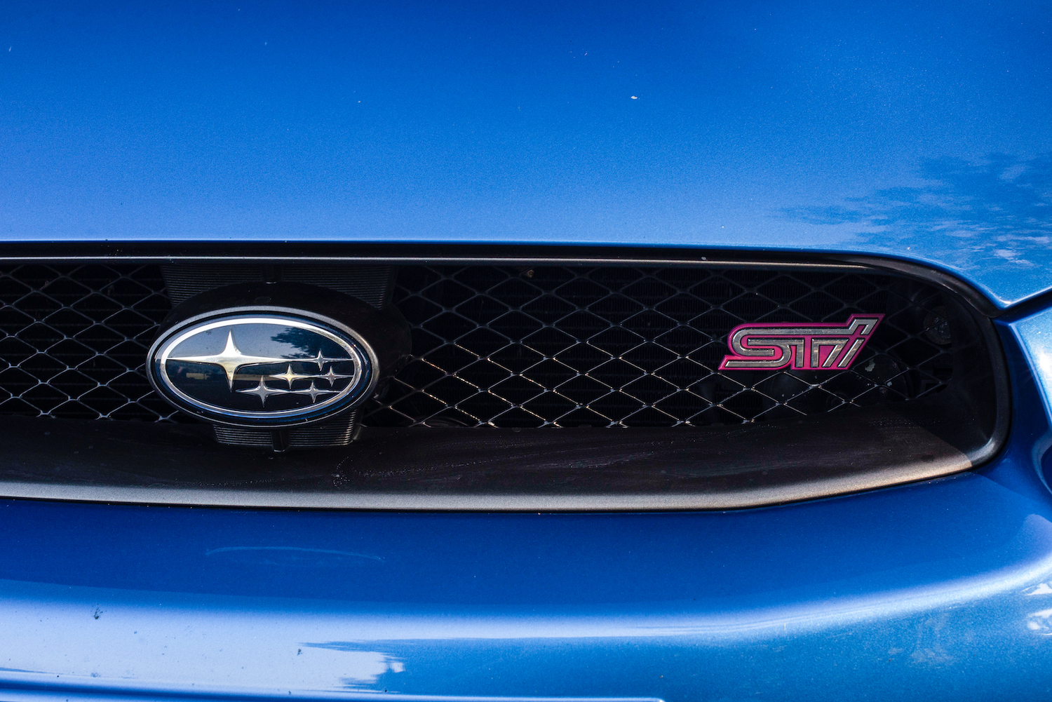 sti front grille