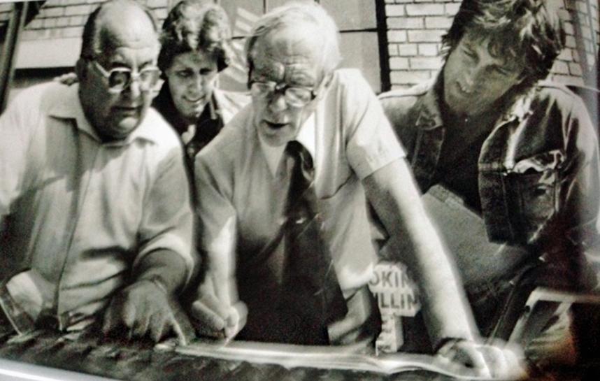 bill fink with morgan men