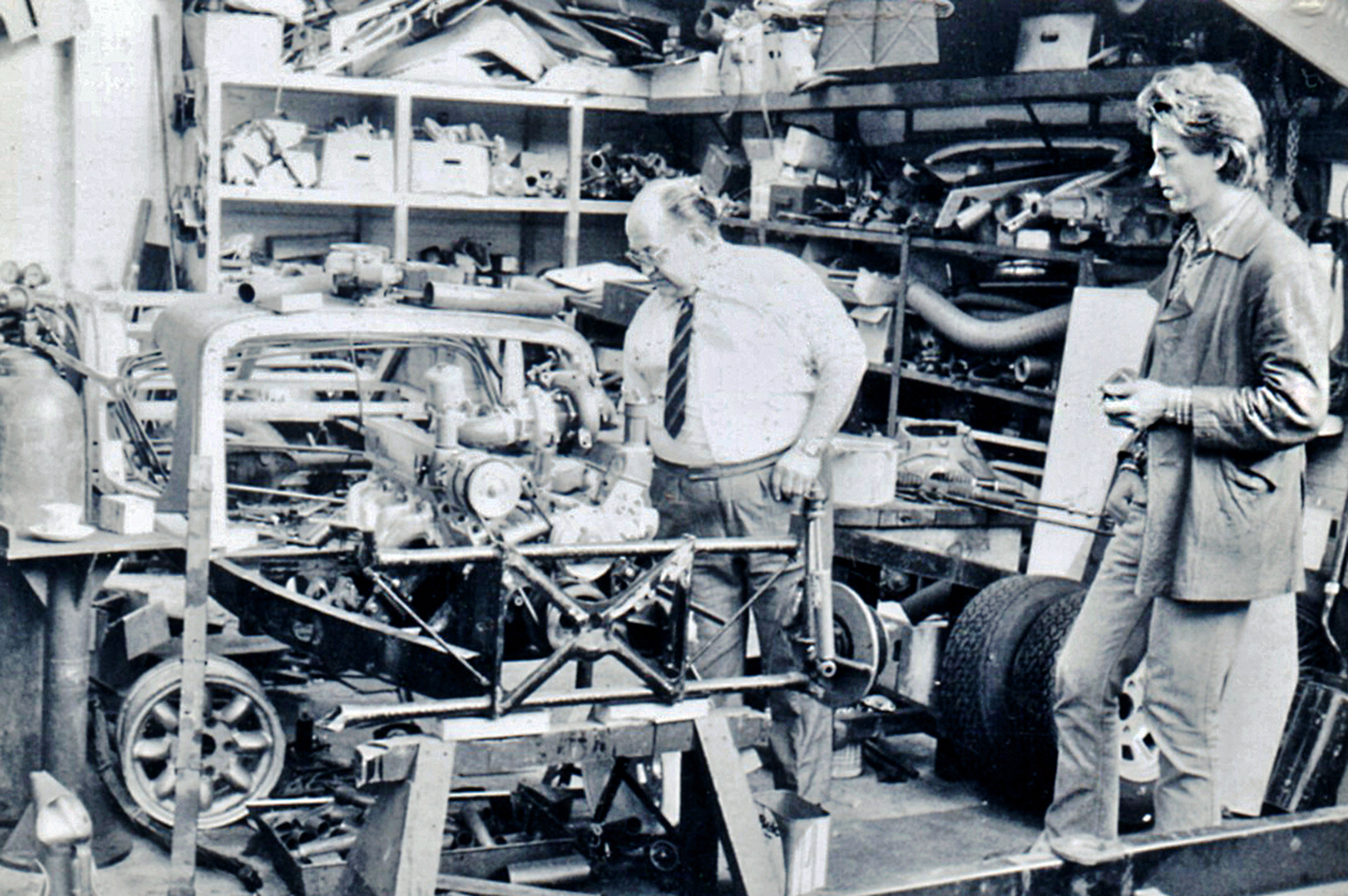 young bill fink working on morgan