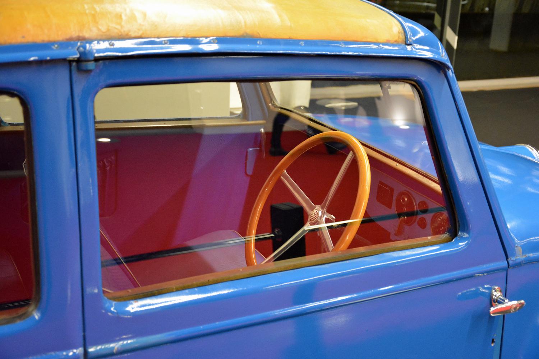 interior wheel through window