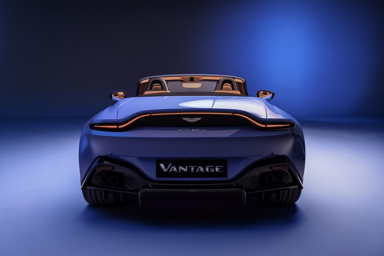 2020 vantage roadster rear