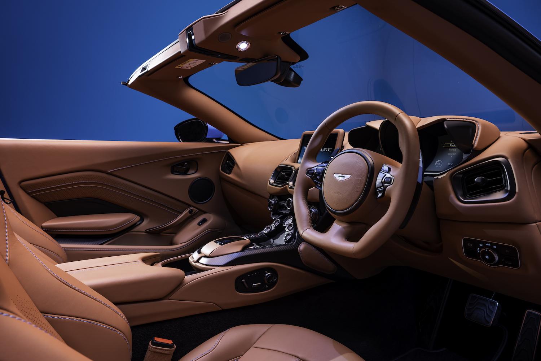 2020 vantage roadster front interior