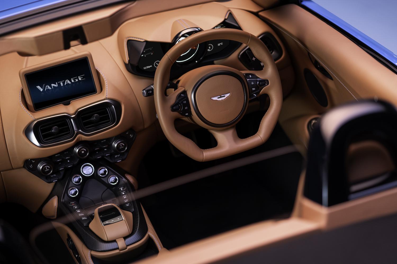2020 vantage roadster elevated interior view