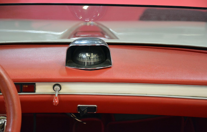 1969 Autobianchi Runabout interior dash compass