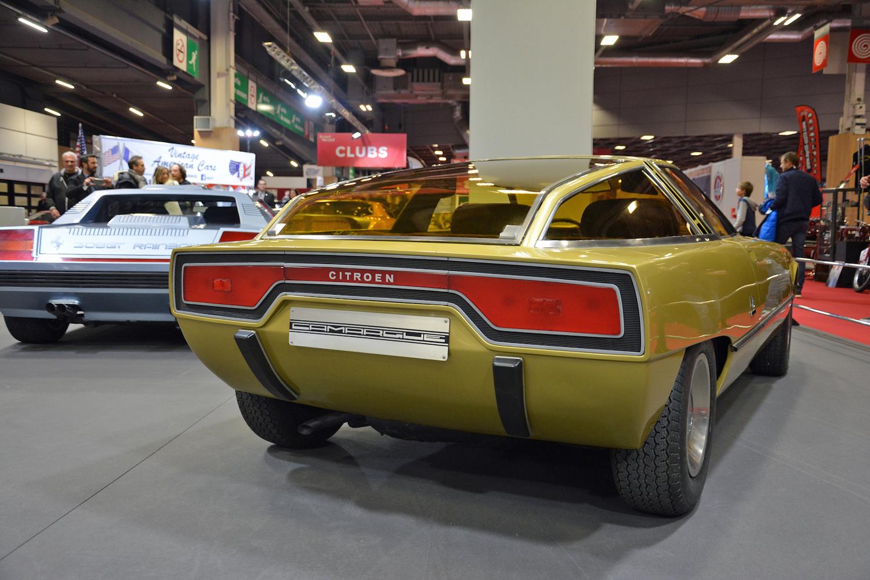 1972 Citroen GS Camargue rear