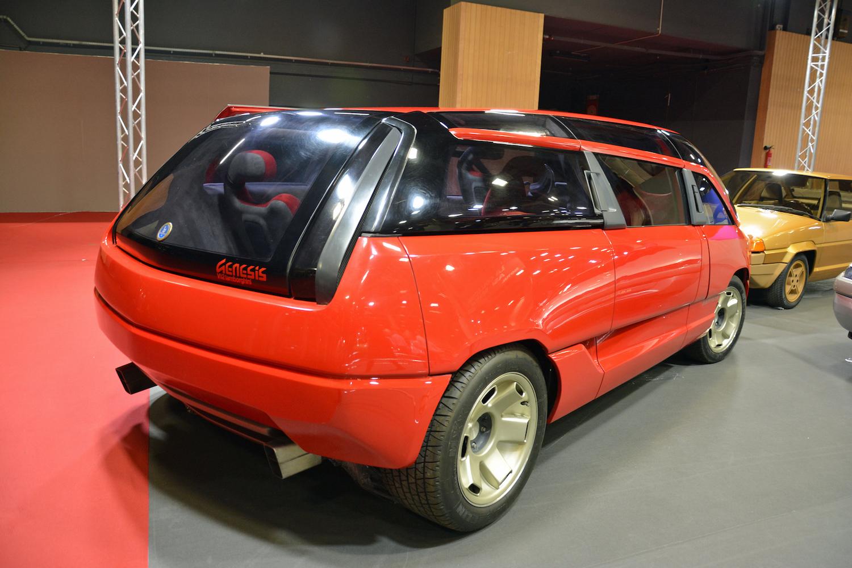 1988 Lamborghini Genesis rear three-quarter