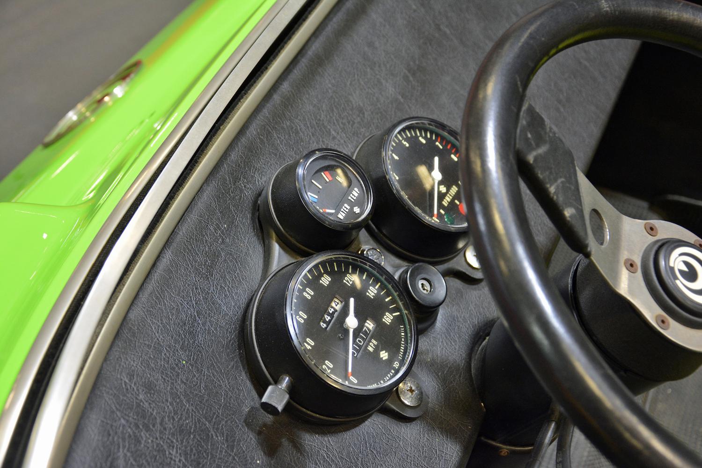 1972 Suzuki Go dash gauges